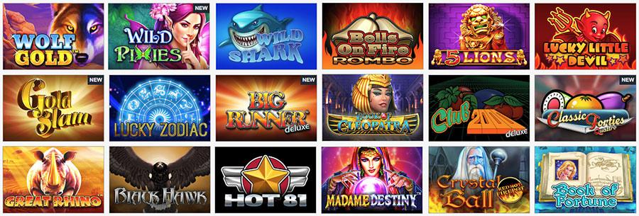 Video slots op een betrouwbaar online casino